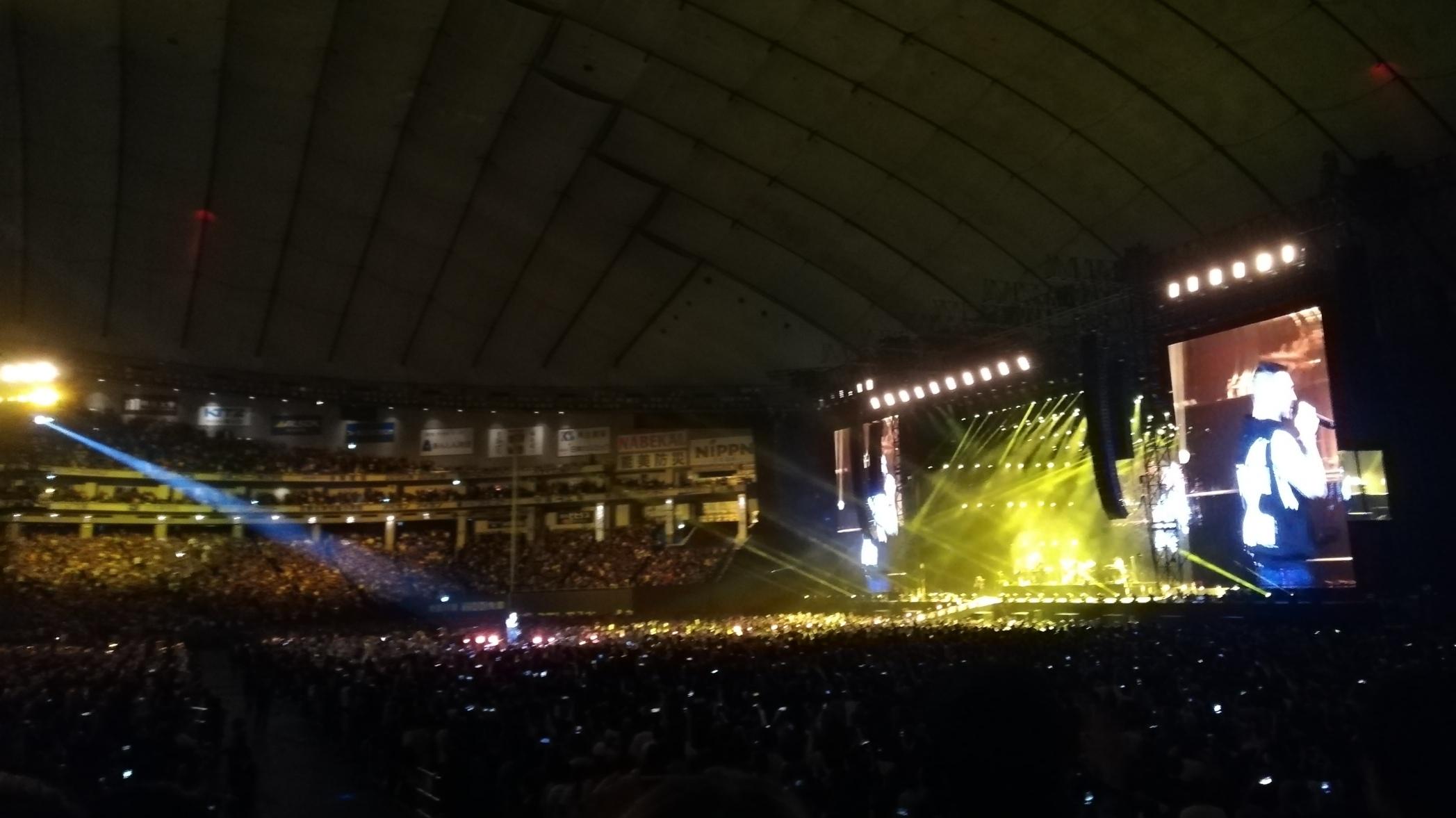 マルーン5 コンサート#1@東京ドーム