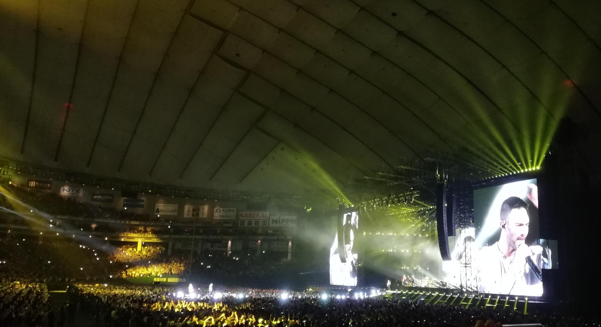 マルーン5 コンサート#2@東京ドーム