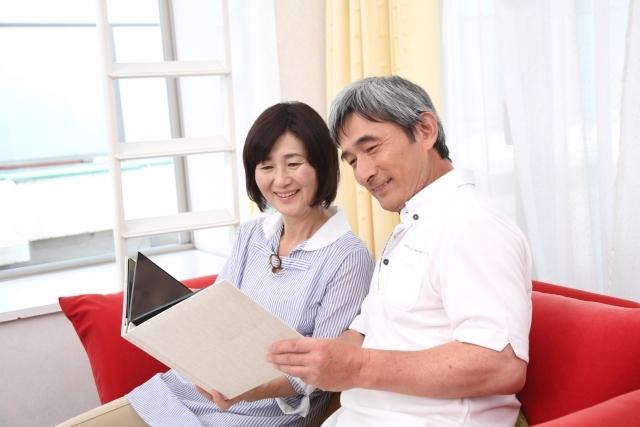 中高年の夫婦