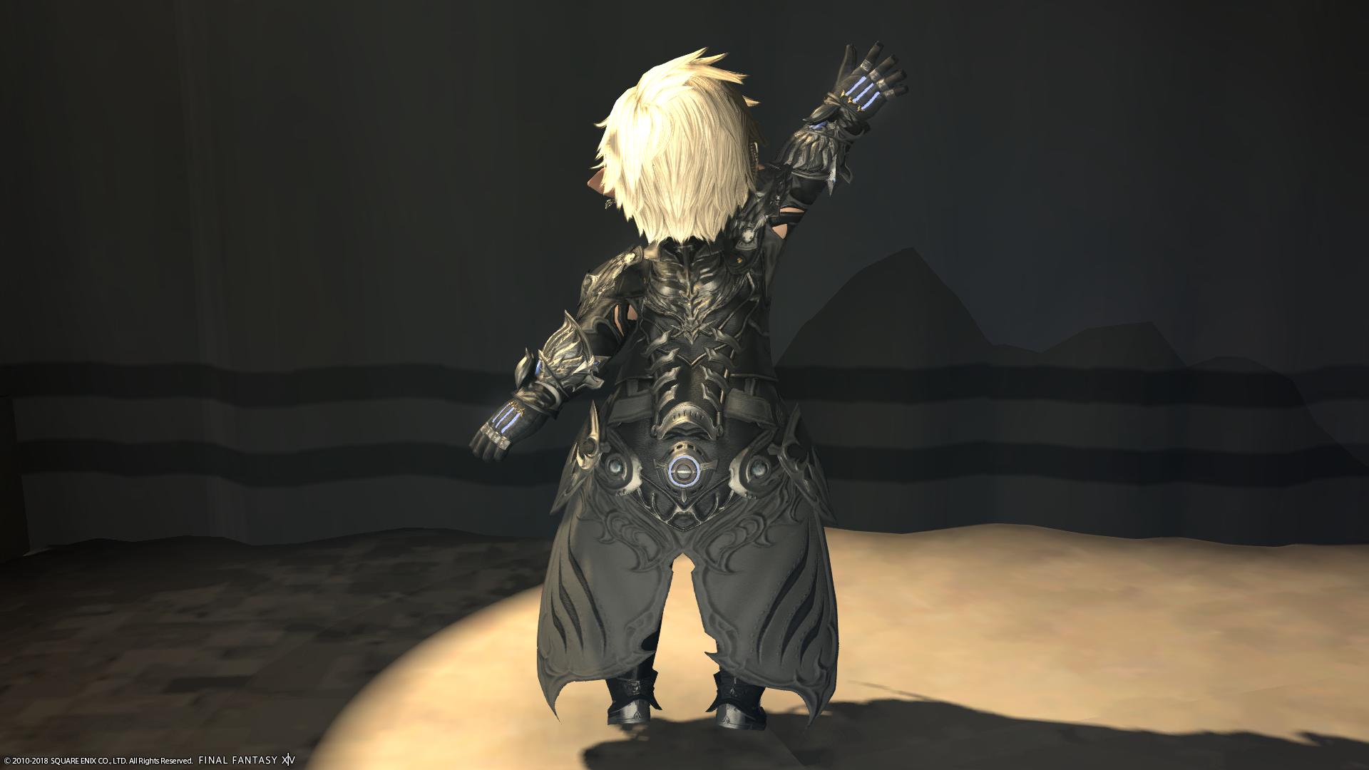 【ミラプリ】オミクロン・ディフェンダー一式【ナイト/戦士/暗黒騎士】2