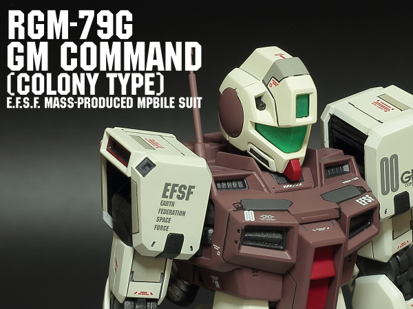 RGM-79G GM COMMAND COLONY