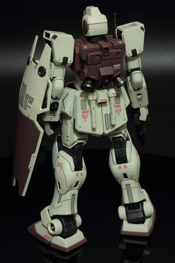 RGM-79G GM COMMAND COLONY (4)