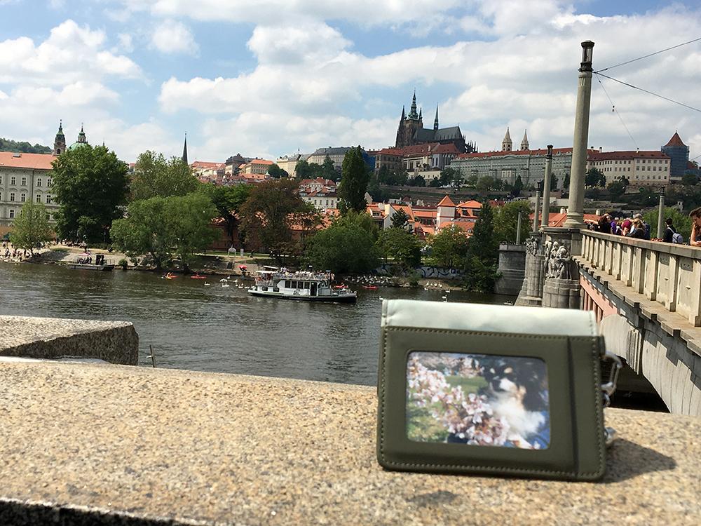 僕とプラハ城とモルダウ川