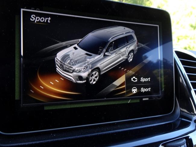 GLS450 Sport mode