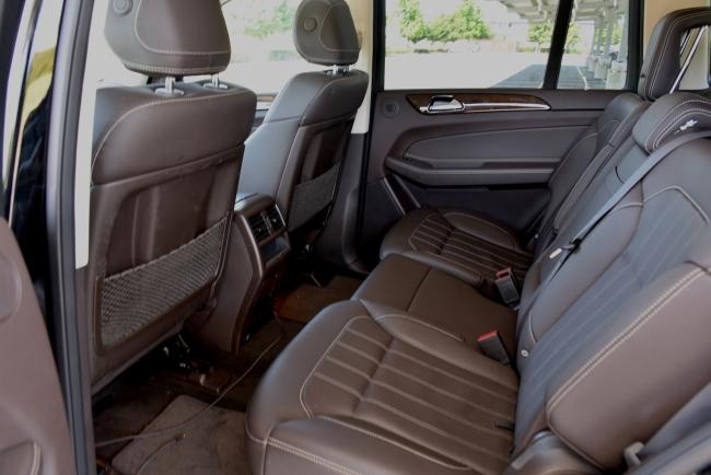 GLS450 rear seat