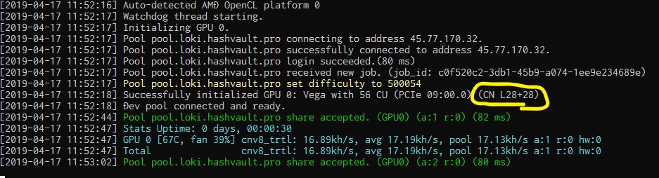 XMRigの効率をはるかに超えるCN系のGPUマイニングソフトウェア