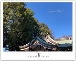 氷川神社 パワフルスポット