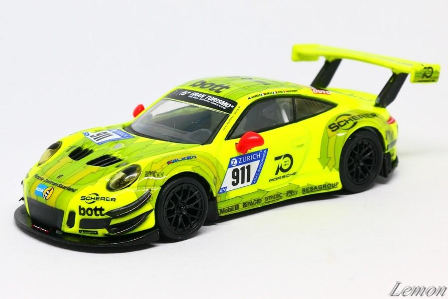 【スパーク】 1/64 ポルシェ 911 GT3 R Manthey Racing #911 Nurburgring 24h 2018