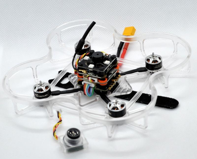 Skystars GhostRider X95 FPV Racing Drone レビュー(3)