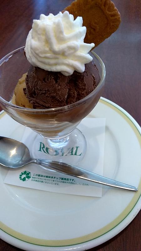 ロイヤルホスト デザート