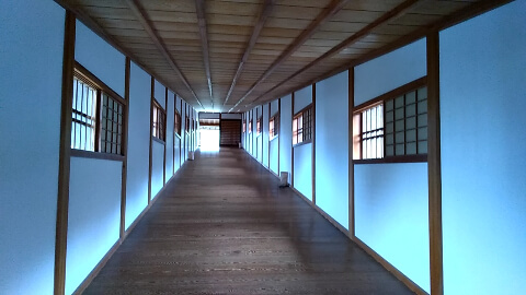 史跡和歌山城 御橋廊下