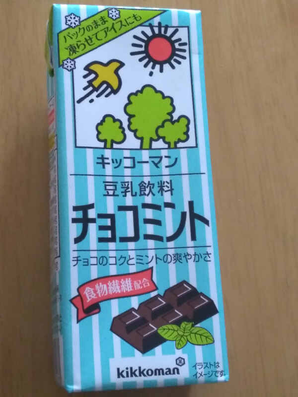 豆乳 チョコミント 口コミ