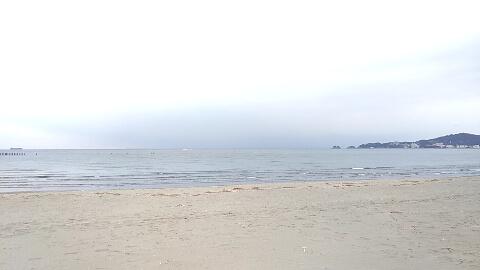 和歌山海水浴場 冬