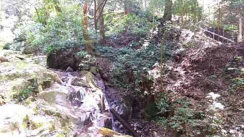 桃尾の滝 奈良県観光