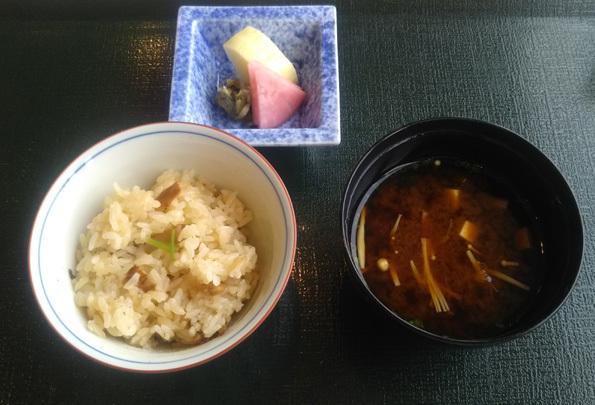 20190924 熊魚庵 7 松茸ご飯 21㎝DSC_6302