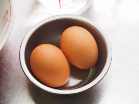 ラーメン丼で簡単温泉卵002