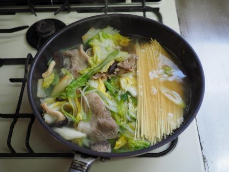 白菜にんにく炒めラーメン026
