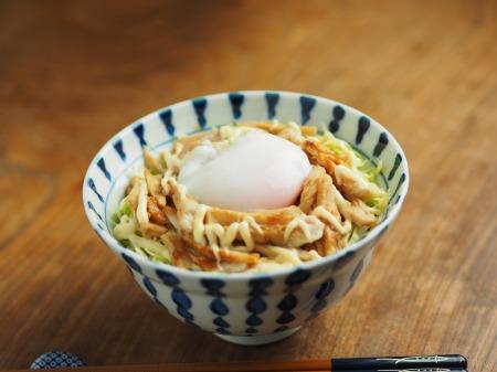 ラーメン丼で簡単温泉卵018