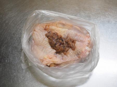 鶏もも肉の塩辛焼き041
