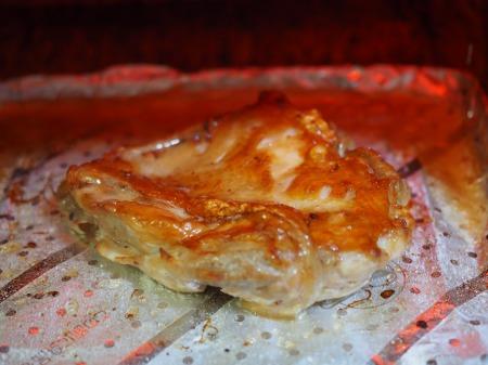 鶏もも肉の塩辛焼き058