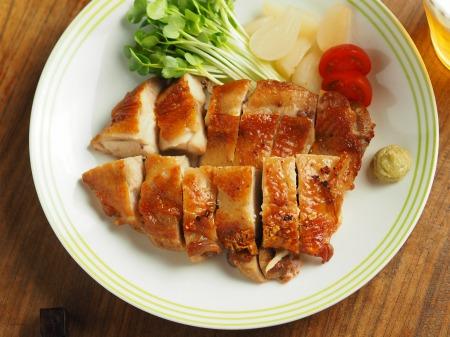 鶏もも肉の塩辛焼きb002