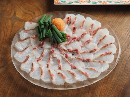 60cm鯛の捌き方、鯛しゃぶ鍋002