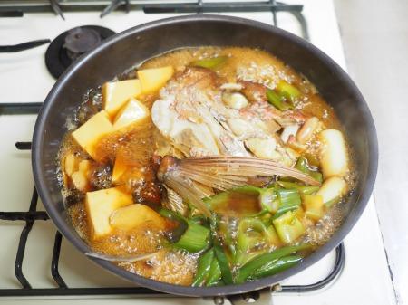 鯛かぶと煮046