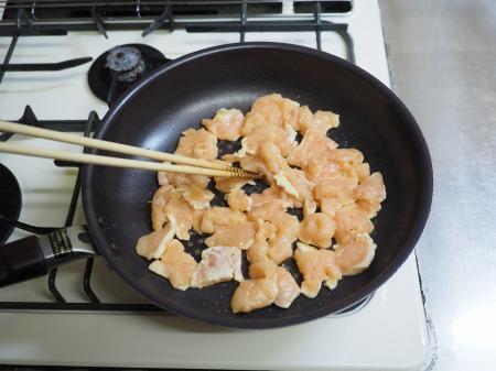 鶏むね肉・にら・えのきのキムチ046