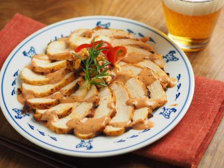 鶏むね肉のオーロラソース焼き011