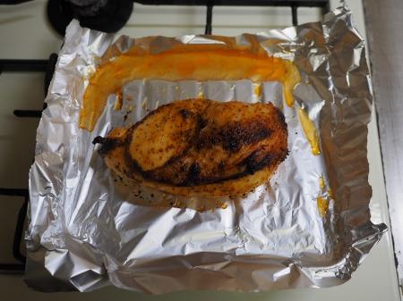 鶏むね肉のオーロラソース焼き049