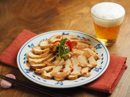 鶏むね肉のオーロラソース焼き008