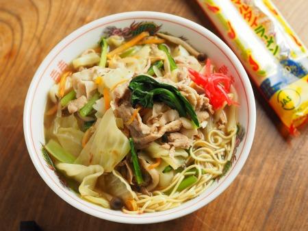 野菜たっぷりラーメン014