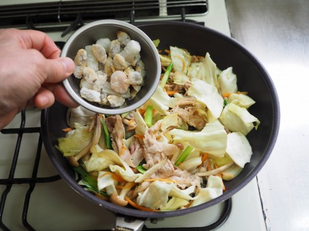 野菜たっぷりラーメン051