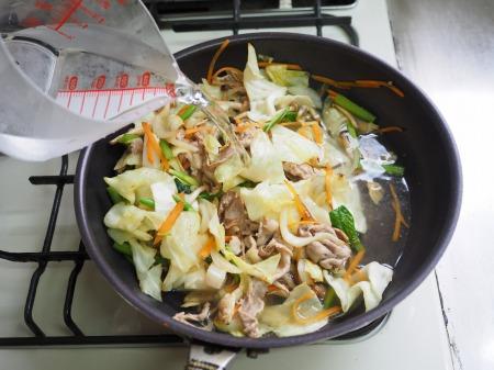 野菜たっぷりラーメン055