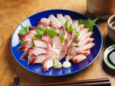 ボラの寿司酢締め刺身002