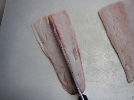 ボラの寿司酢締め刺身037