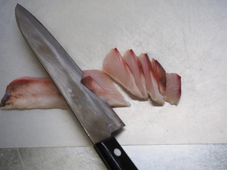 ボラの寿司酢締め刺身039