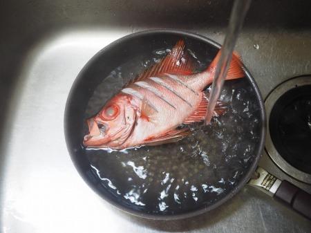 金時鯛の煮付け078