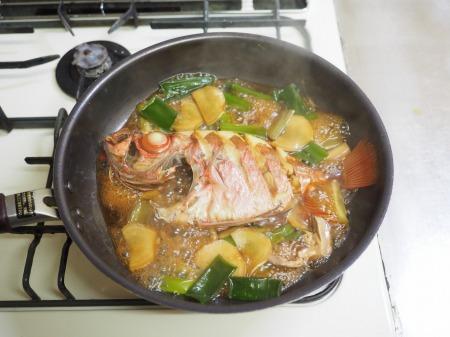 金時鯛の煮付け105