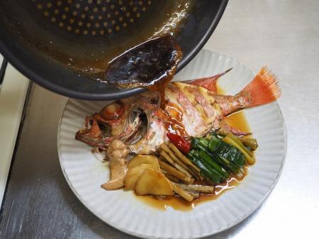 金時鯛の煮付け113