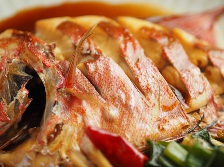 金時鯛の煮付け020