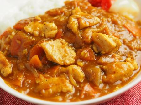 カレー粉で作る鶏むね肉カレ022