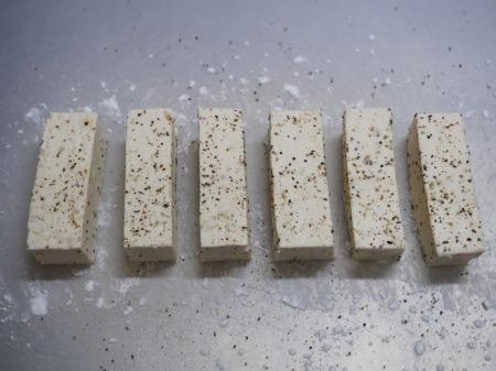 木綿豆腐肉巻き照り焼き079
