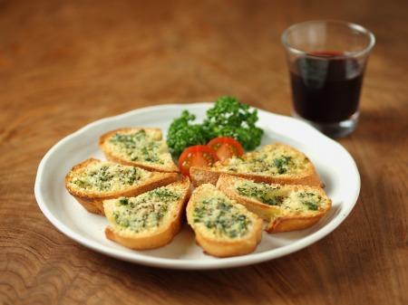 チーズガーリックトースト38