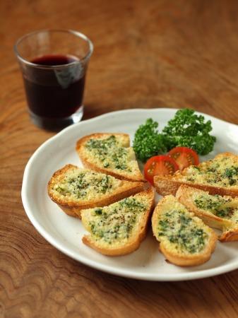 チーズガーリックトースト35