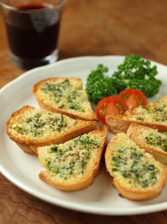 チーズガーリックトースト36