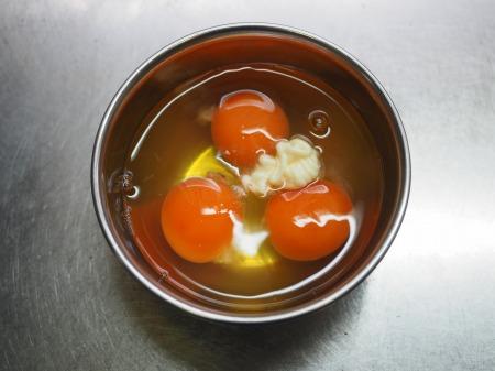 豚肉とにら、きくらげの卵炒め038