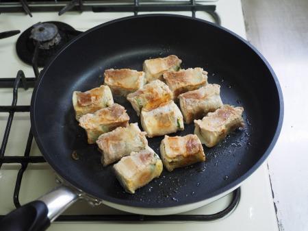 焼き豆腐肉巻き照り焼き050