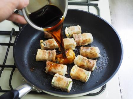 焼き豆腐肉巻き照り焼き053