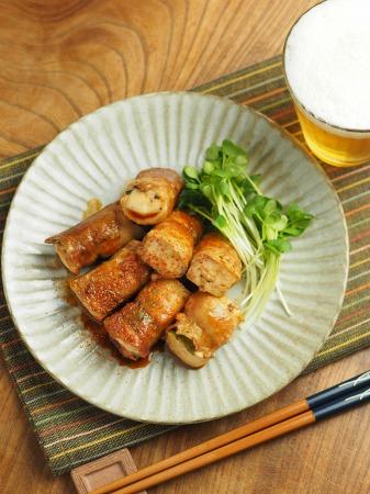 焼き豆腐肉巻き照り焼き026